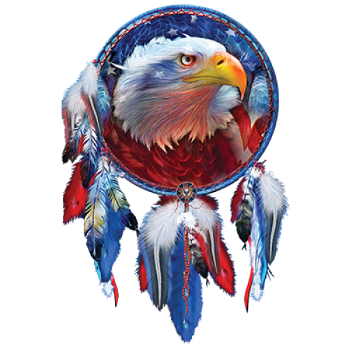 Eagle (Red White and Blue)