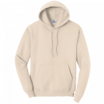 Natural Pullover Hooded Sweatshirt