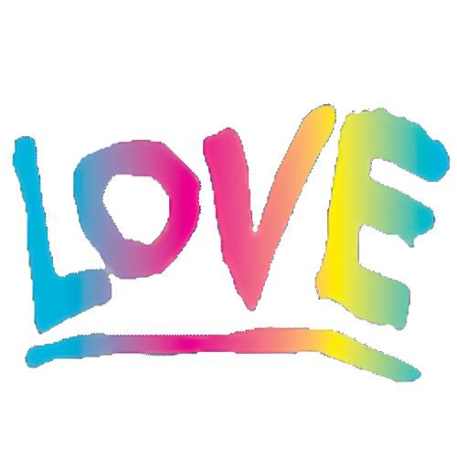 Love (Tie Dye/Multi Color)