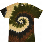 Camo Swirl Youth Tie Dye Tee