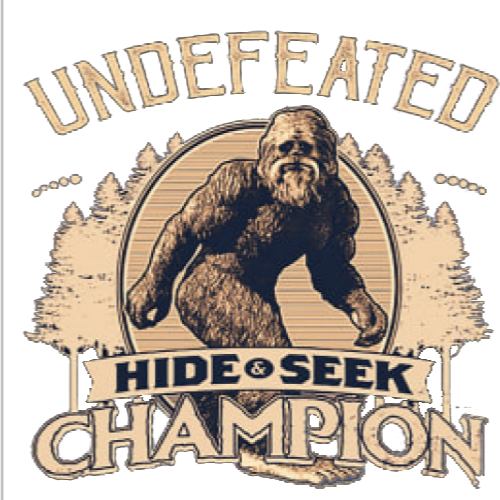 Sasquatch Undefeated Hide and Seek