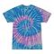 Spiral Lavender Blue Youth Tie Dye Tee