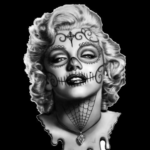 Marilyn Monroe (Sugar Skull)