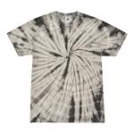 Spider Gray Adult Tie-Dye T-Shirt