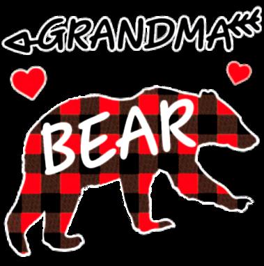 Grandma Bear (Plaid)