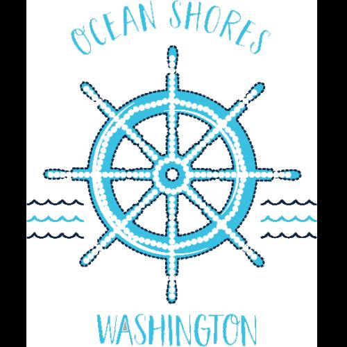 Ocean Shores (Ships Wheel/Helm)