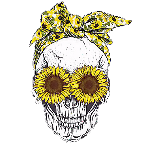 Skull (Sunflower)