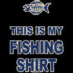 Fish (This is my fishing shirt)