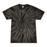 Spider Black Adult Tie-Dye T-Shirt