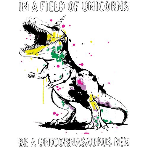 T-Rex (Dinosaur / Field of Unicorns)