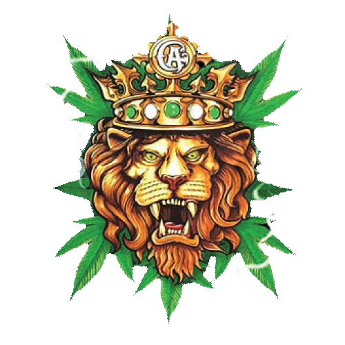 Lion Weed With Crown