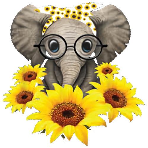 Elephant (Sunflower)