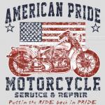 Motorcycle (American Pride)
