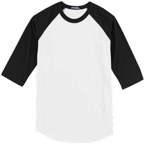 White/Jet Black BB-Tee