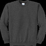 Dark Heather Gray Crewneck Sweatshirt