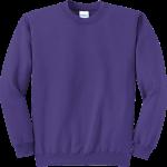 Purple Crewneck Sweatshirt