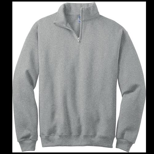 Oxford 1/4-Zip Cadet Collar Sweatshirt