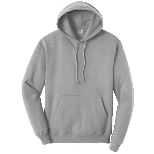 Athletic Heather Pullover Hooded Sweatshirt