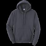 Heather Navy Blue Pullover Hooded Sweatshirt