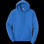 Royal Blue Pullover Hooded Sweatshirt