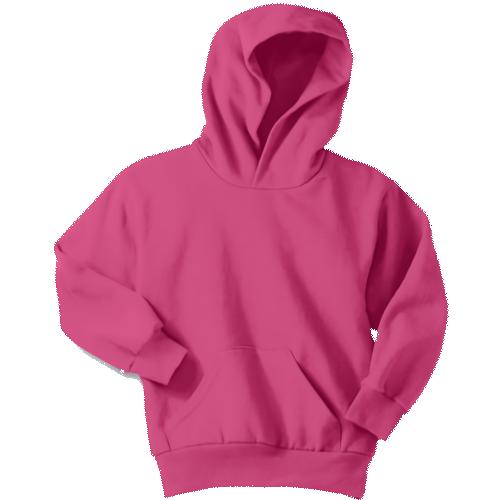 Sangria Youth Pullover Hooded Sweatshirt
