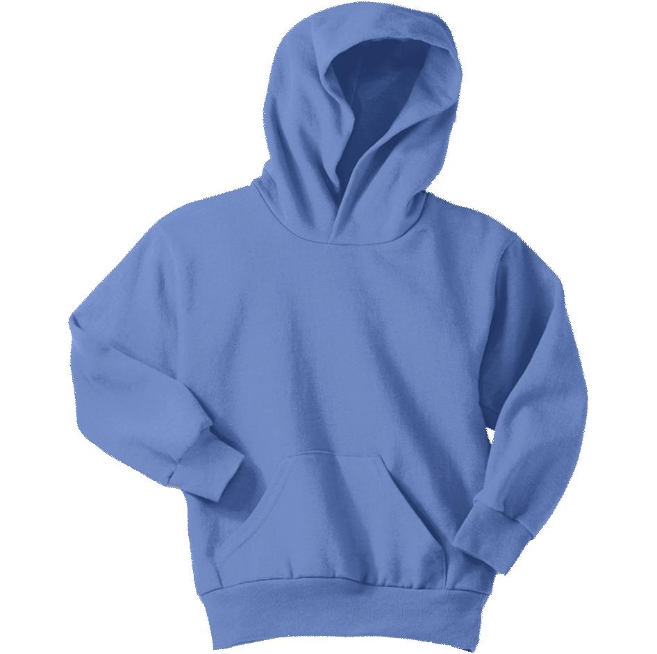 Carolina Blue Youth Pullover Hooded Sweatshirt