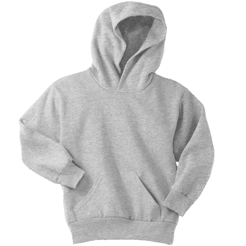 Ash Youth Pullover Hooded Sweatshirt