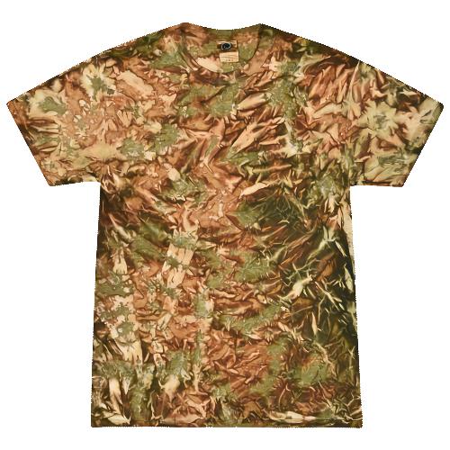 Camo Adult Tie-Dye T-Shirt