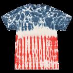 Flag Adult Tie-Dye T-Shirt