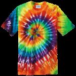 Rainbow Adult Tie-Dye T-Shirt