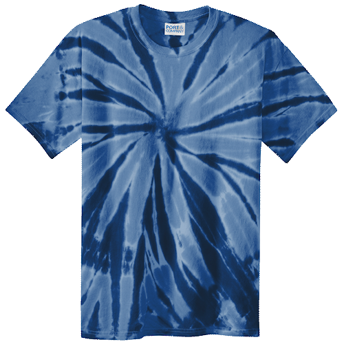 Navy Adult Tie-Dye T-Shirt