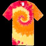 Blaze Rainbow Adult Tie-Dye T-Shirt