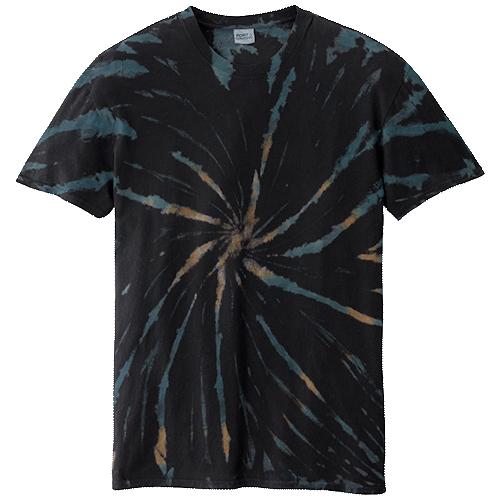 Black Galaxy Adult Tie-Dye T-Shirt