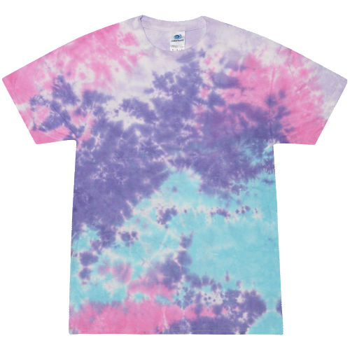 Cotton Candy Adult Tie-Dye T-Shirt