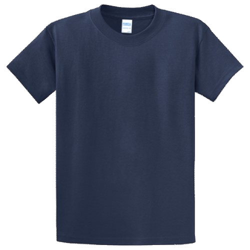 Navy Blue Short Sleeve Tee