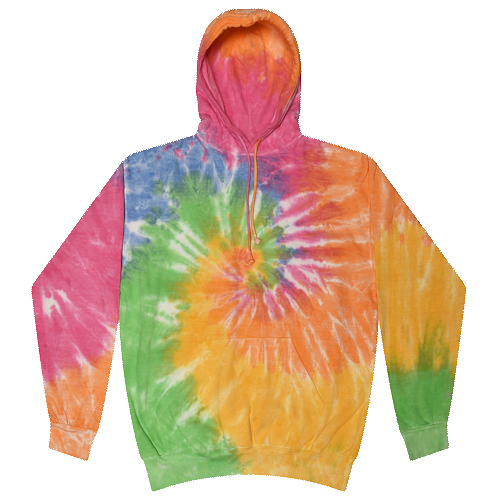 Tie Dye Eternity Youth Pullover Hooded Sweatshirt