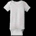 Heather (Infant Short Sleeve Baby Rib Bodysuit)