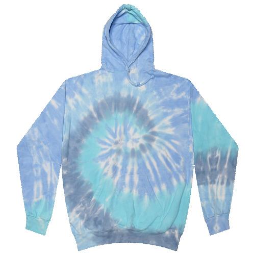 Lagoon Tie-Dye Pullover Hooded Sweatshirt
