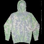 Slushy Tie-Dye Pullover Hooded Sweatshirt