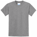 Athletic Heather Gray Youth Tee