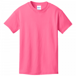 Neon Pink Youth Tee