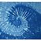 Throw Blanket (Spiral Blue)
