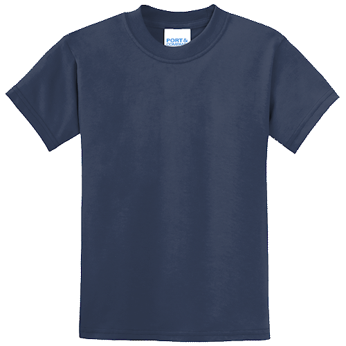Navy Blue Youth Tee