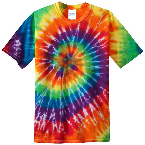 Rainbow Youth Tie Dye Tee
