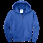 Royal Blue Infant/Toddler Full-Zip Hooded Sweatshirt