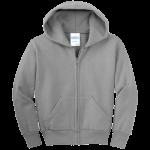 Athletic Heather Gray Infant Full-Zip Hooded Sweatshirt