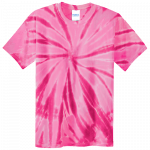 Pink Youth Tie Dye Tee