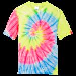 Neon Rainbow Tie Dye Tee