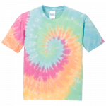 Pastel Rainbow Youth Tie Dye Tee