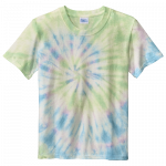 Watercolor Spiral Youth Tie Dye Tee